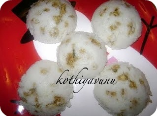 Chicken Stuffed Idli