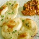 Butter Naan / Baked Indian Bread /Homemade Naan