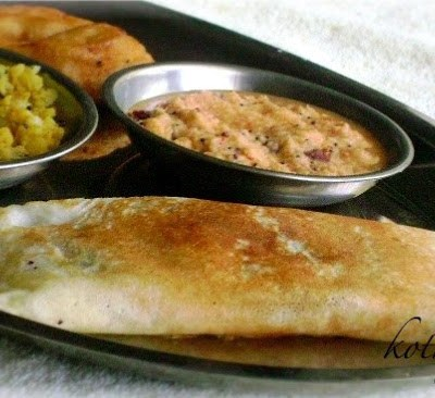 Masala Dosa Recipe – South Indian Breakfast | Indian Style Rice Crepes with Potato Filling