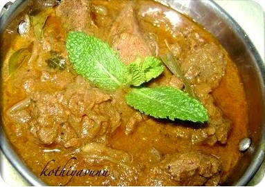Kerala Mutton Curry /Lamb /Goat Curry
