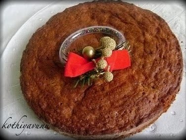 Kerala Plum Cake - Christmas Fruit Cake