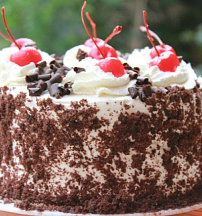 Eggless Black Forest Cake Recipe Indian Style