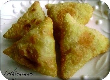 Tuna  Samosa Recipe – Tuna Stuffed Savoury Pastries Recipe