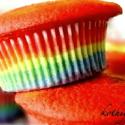 Rainbow Cup Cake