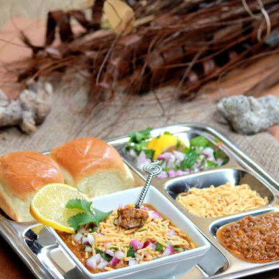 Usal – Misal Pav Recipe – Mumbai Street food Recipes