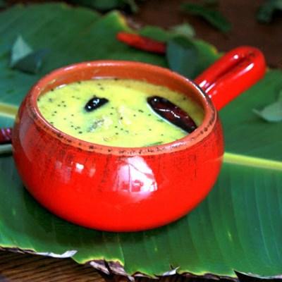 Ethapazham  Pulissery – Nenthra Pazham Pulissery Recipe   Ripe Banana Pulliseri Recipe