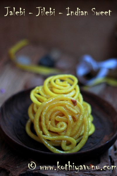 Jalebi – Jilebi Recipe for 3 Million Hits – A Popular Indian Sweet