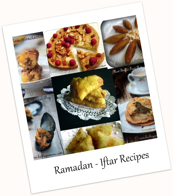 Iftar Recipes - Ramadan Recipes |kothiyavunu.com
