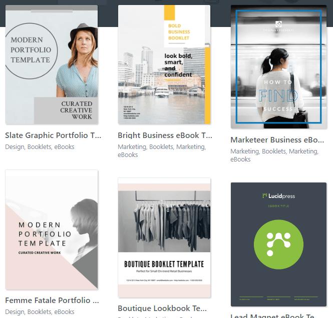 Top Seven Sites For Ebook Templates Kotobee Blog