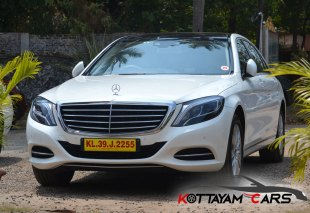 Mercedes Benz S500 for rent in Kerala