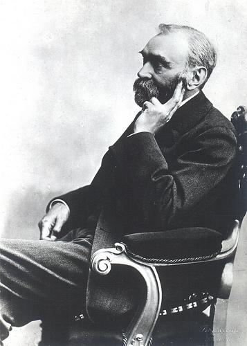 black and white philosopher photo