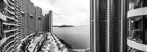 black and white luxury photo