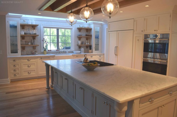 Painted Kitchen Cabinets In Old Saybrook Ct