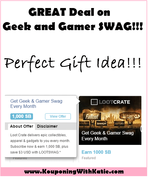 great deal on geek gamer swag perfect gift idea kouponing