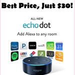 Grab An Amazon Echo Dot At The BEST Price, ONLY $30!!!!