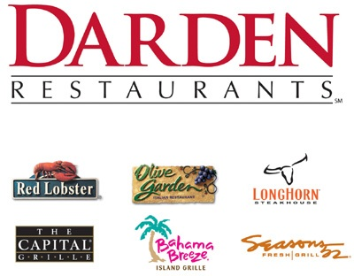 HOT DEAL!!! FREE $10 Darden Restaurants Gift Card (Works At Olive ...