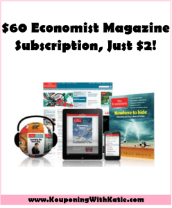 Money Maker Deal On a 12 Week, $60 Subscription To The Economist!!!