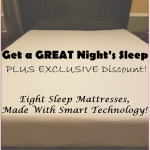FALL PROMO: VIDEO Review: Eight Jupiter Mattress Made With Smart Technology, Plus HOT $100 & FREE Pillow Promo Code Offers!!!