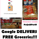 Available Again!!! Get $15 In Groceries DELIVERED For Just 5 Bucks!!!