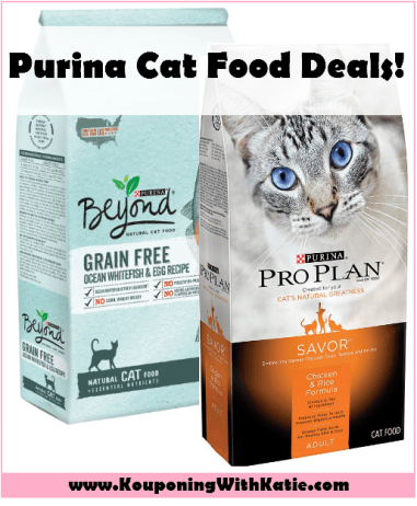 Stock Up On Purina Pro Plan Or Purina Beyond Cat Food Kouponing