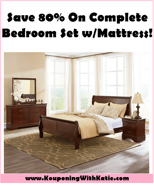 Save 80 On A Complete Bedroom Set With Mattress Run