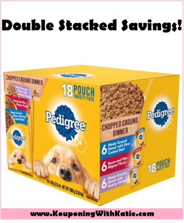 Stock Up On Pedigree Wet Dog Food With New Double Stack At Target