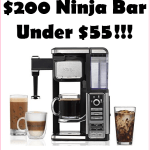 ***HOT DEAL*** Grab A $200 Ninja Bar For $55!!! Make Hot, Cold, or Specialty Coffee At Home!!!