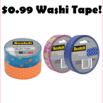 $0.99 Washi Tape At Target; Perfect For School Projects & Decorating!!!