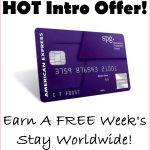 HOT American Express Offer; Get 25,000 SPG Bonus Points For Hotels Around The World (FREE WEEK)!!!!