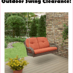 ***HOT*** Outdoor Swing Clearance From Walmart, w/Free Shipping!!!