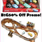 Save Almost Half Off Disney Cars Track + 11ct Die Cast Cars Set From Target!!!