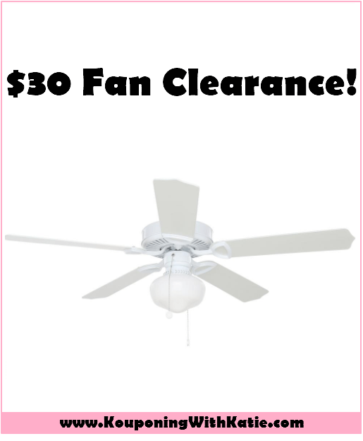 52 white ceiling fan with light on clearance for just 30 52 white ceiling fan with light on clearance for just 30 kouponing with katie aloadofball Gallery