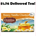 $1.76 Celestial Seasonings Honey Vanilla Chamomile Tea!!!