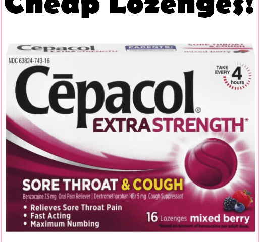 Stock Up On Cepacol Lozenges For Just $1.63 At Target!!!