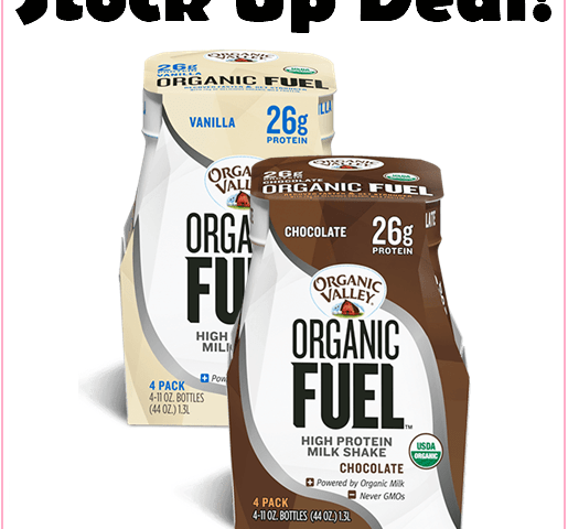 Stacking Offers At Target = Cheap High Protein Organic Valley Drinks!!!