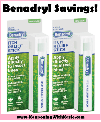 Stock Up & Save On Benadryl Anti Itch Sticks!!! - Kouponing