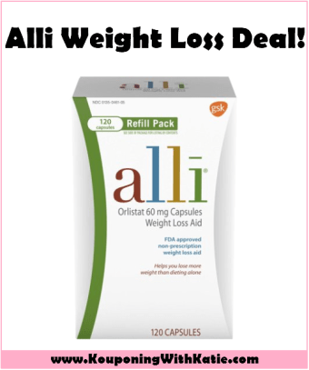 Half Off Alli Weight Loss Starter Kits Kouponing With Katie