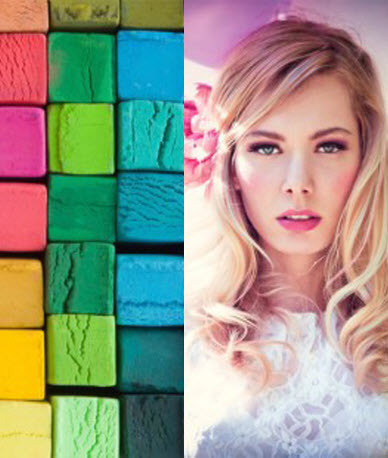 24 color hair chalk set for only 19