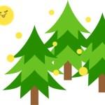 今年の花粉飛散量は昨年の40%!!