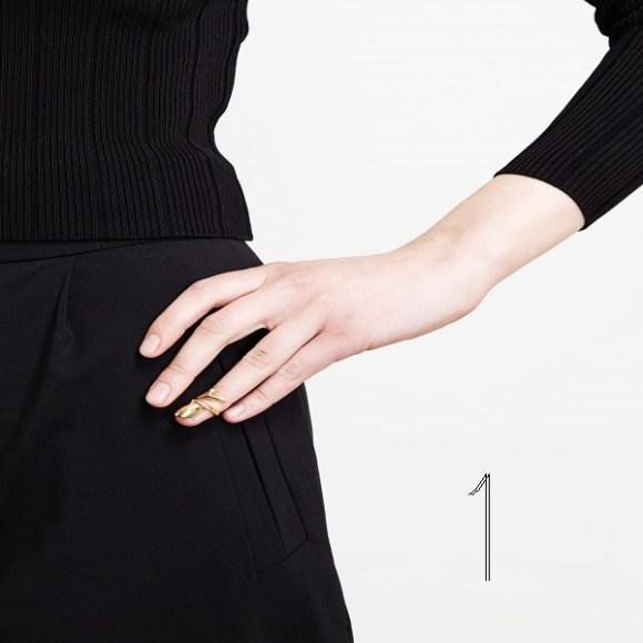BiJules Nail ring
