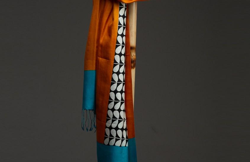 Slow brand Urban Medley maakt accessoires van peace silk