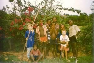 93David Sam and Gouabafla kids