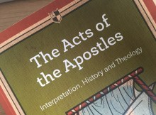 Books I Have Read: The Acts of The Apostles