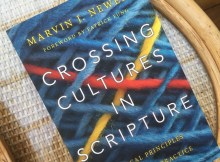 Books I Have Read: Crossing Cultures in Scripture