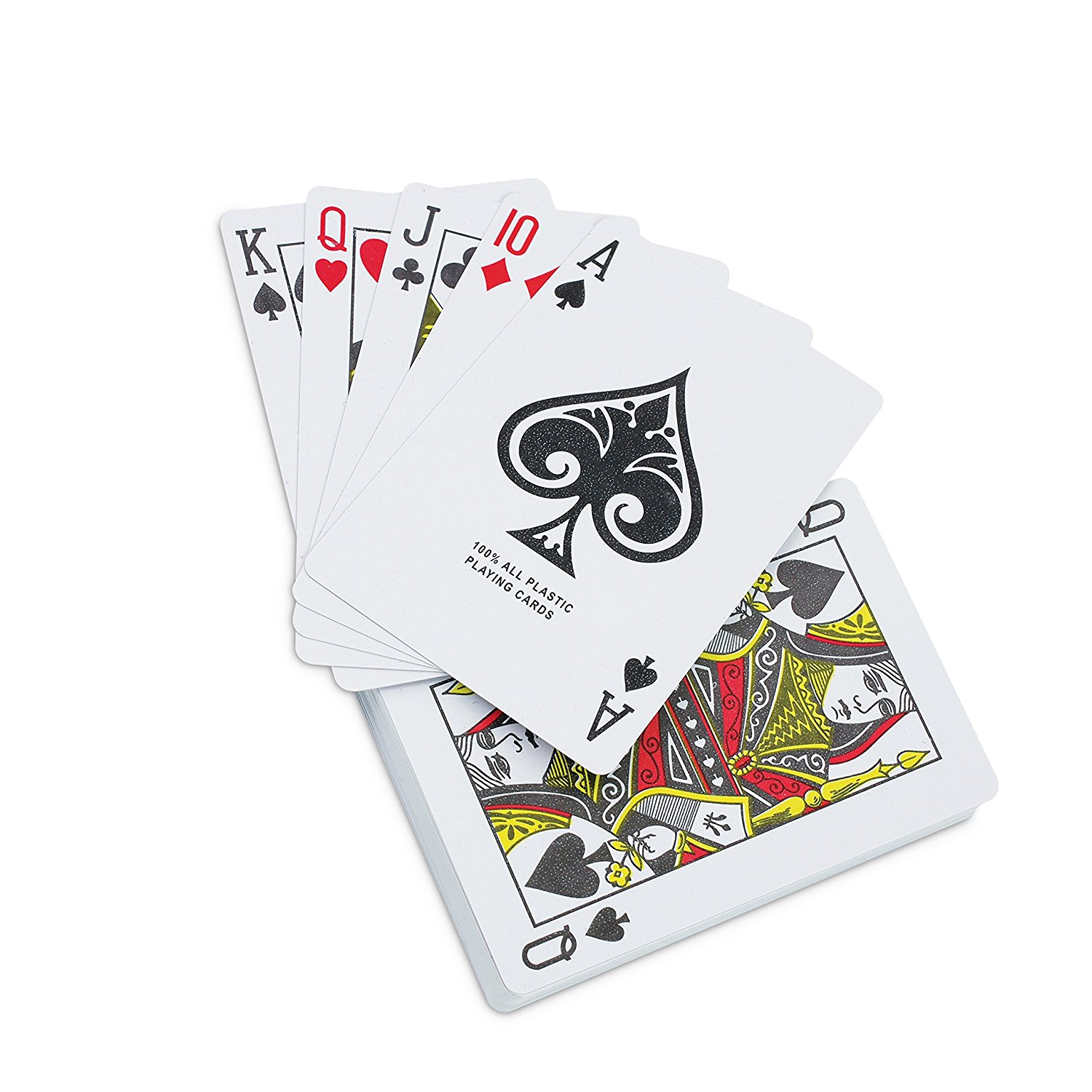 Waterproof Playing Cards In Plastic Case KOVOT