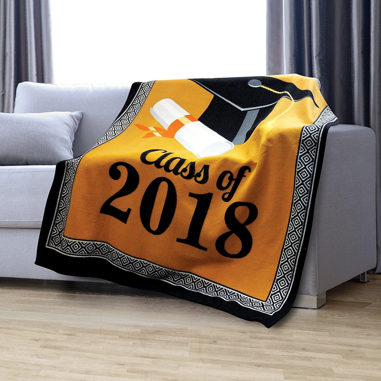 2018 Graduation Throw Fleece Blanket KOVOT