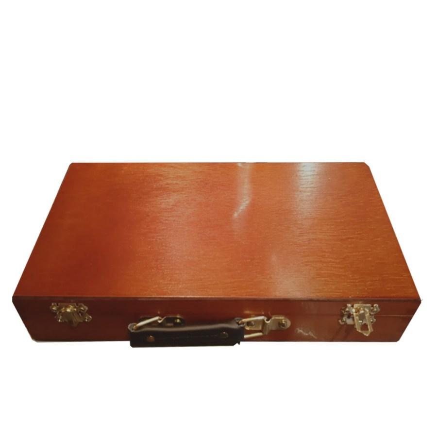 Caja madera óleo Lukas Studio