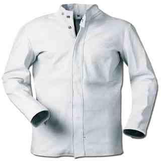 TAURUS LUX – kožený svářečský kabát šedý - foto 1