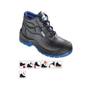 COTBUS S3 pracovní bezpečnostní obuv z hovězinové usně - foto 1