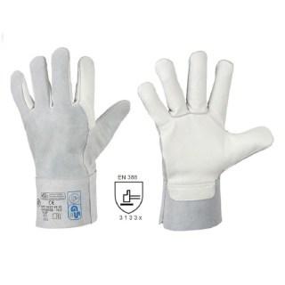 VS 52 celokožené pracovní rukavice z hověziny vel. 10,5 - foto 1